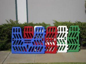 Plastic Stall Gates